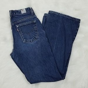Levi Vtg Dry goods Made in USA flare Jean's 7m
